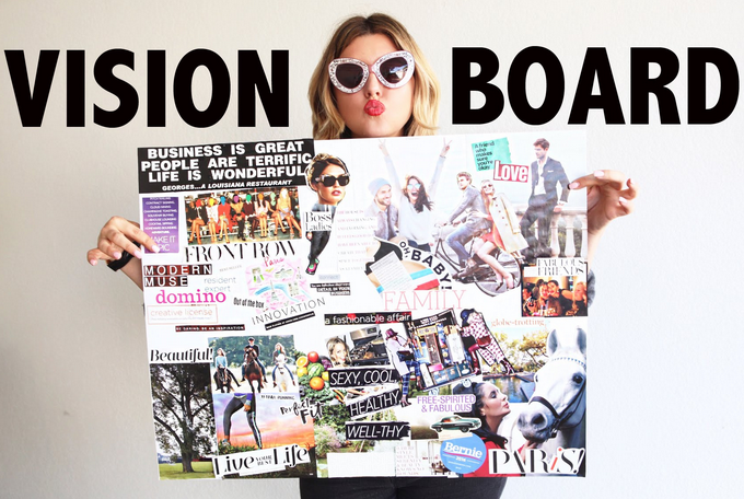 The Power of A Vision Board – The Secret