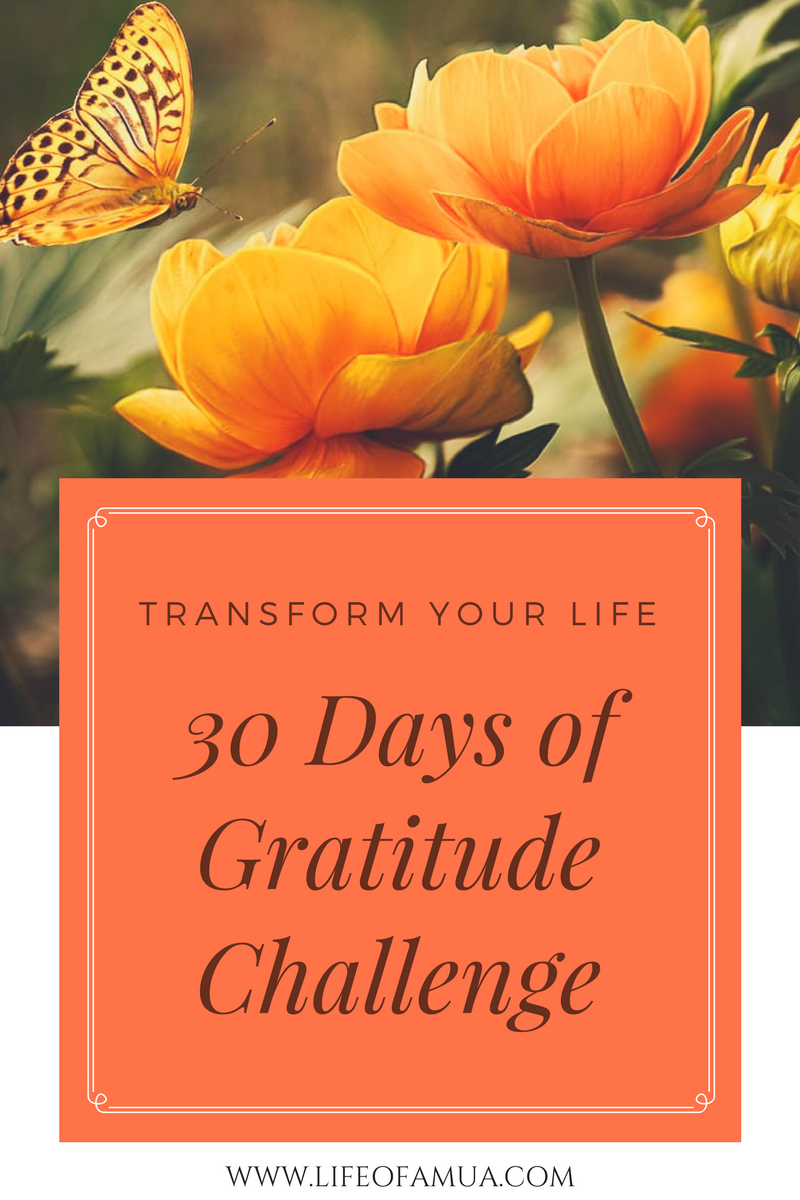 The Gratitude Challenge – Change Your Life