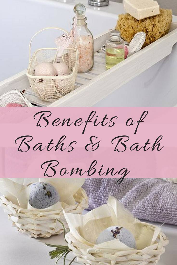 Benefits of Bathing & Bath Bombing