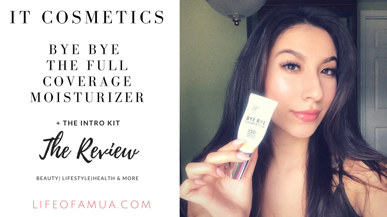 IT Cosmetics Bye Bye Foundation Moisturizer + Intro Kit Review